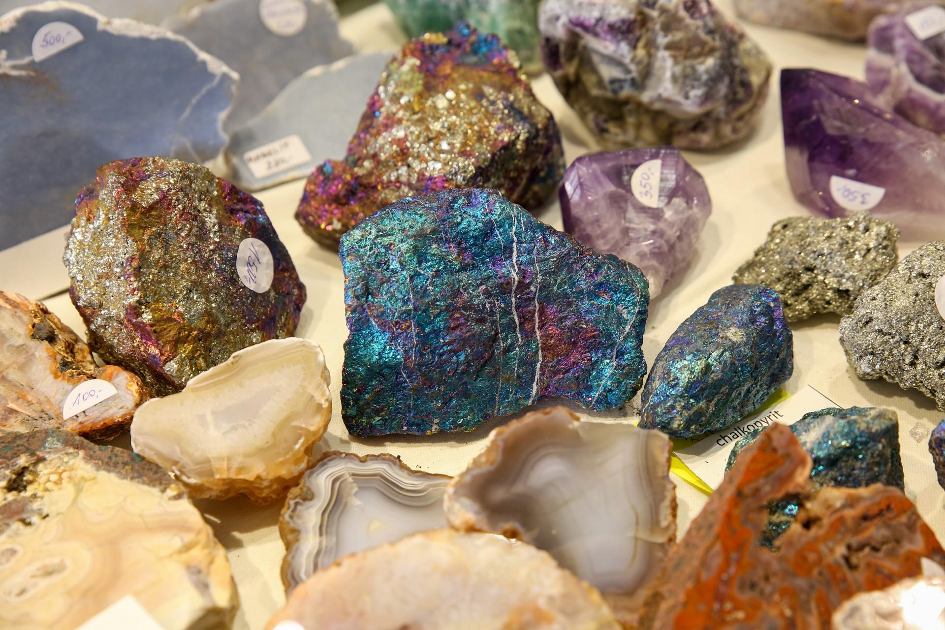 Blahodárné účinky minerálů